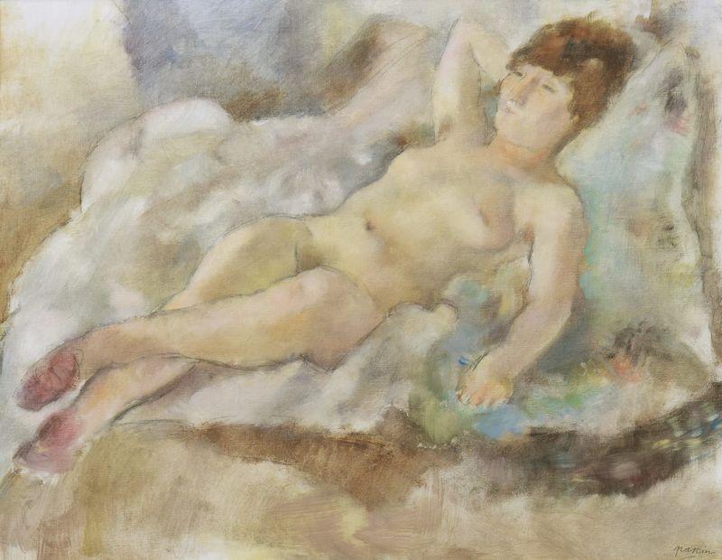 Jules PASCIN - Pintura - Rebecca Couchée