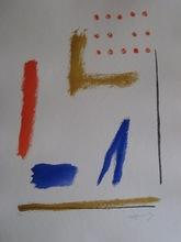 Alberto RAFOLS CASAMADA - Grabado - LITHOGRAPHIE SIGNÉ AU CRAYON NUM/75 HANDSIGNED LITHOGRAPH
