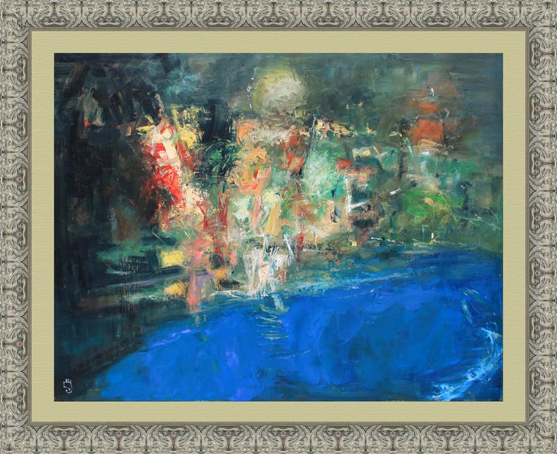 Levan URUSHADZE - Gemälde - Moon river