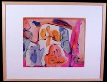 Grace RENZI - Painting - Abstraction 1