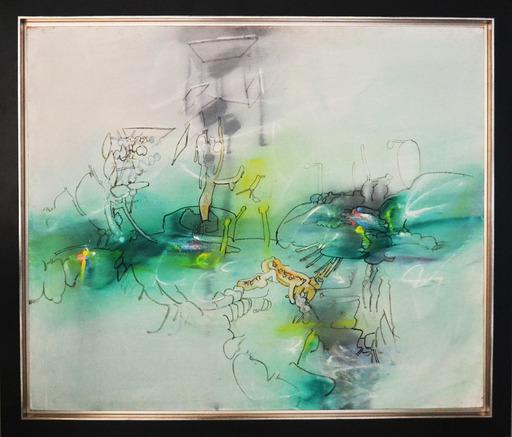 Roberto MATTA - Peinture - Sans Titre (Untitled)