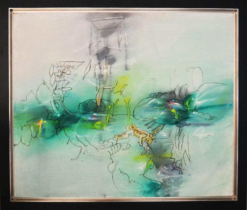 Roberto MATTA - Pintura - Sans Titre (Untitled)
