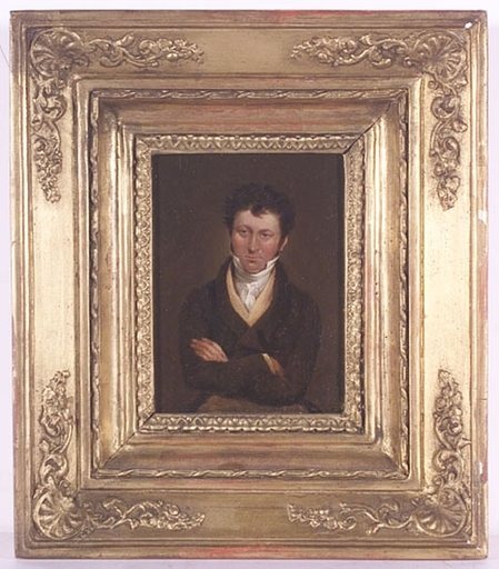 """Pintura - """"Portrait of a Young Gentleman"""", early 19th Century"""