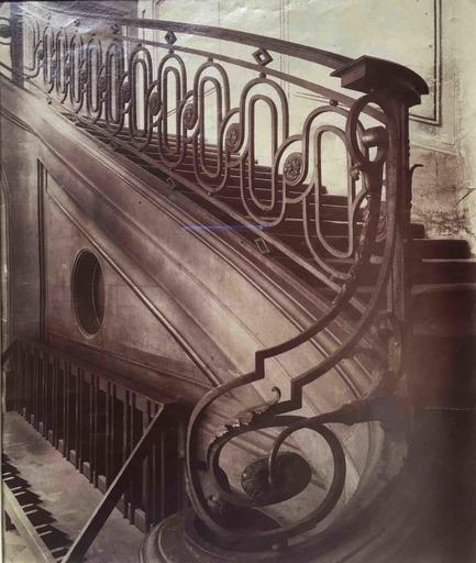 Eugène ATGET - Fotografia - Untitled (Hôtel de Fleury)