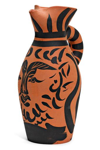 巴勃罗•毕加索 - 陶瓷  - Yan le barbu