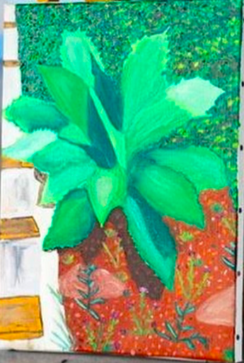 Manon BALAŸ - Painting - « Sans-titre »