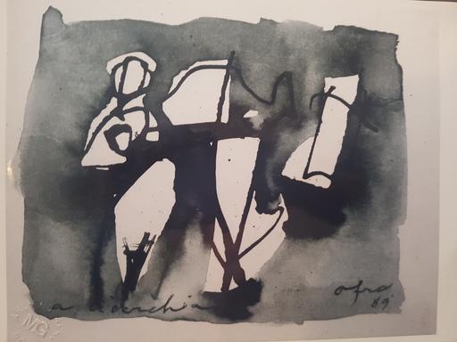 AFRO - Dibujo Acuarela