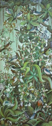 Nyoman DARSANA - Painting - Bali Birds