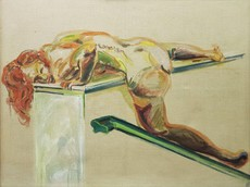 Norbert TADEUSZ - Peinture - HEIDI  1973-1973