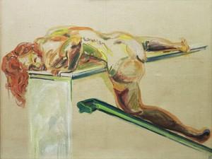 Norbert TADEUSZ - Pittura - HEIDI  1973-1973