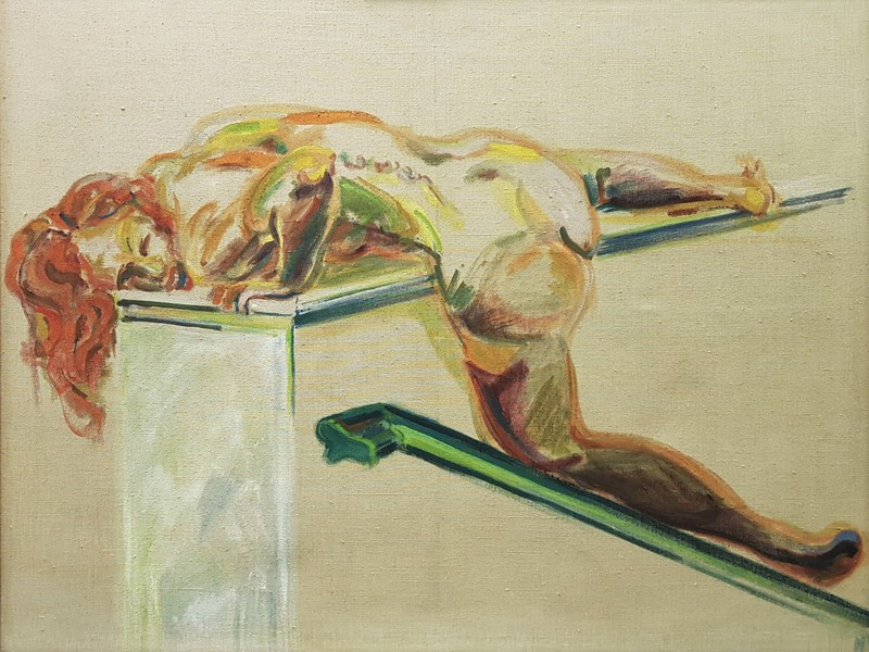 Norbert TADEUSZ - Gemälde - HEIDI  1973-1973