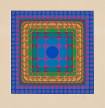 Victor VASARELY - Print-Multiple - Koska-Sin