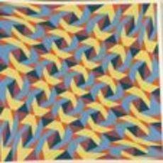 Franco GRIGNANI - Grabado - 5 Diagonali Iperboliche