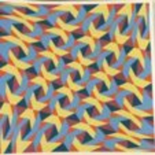 Franco GRIGNANI - Stampa Multiplo - 5 Diagonali Iperboliche
