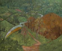保罗·塞律西埃 - 绘画 - Paysage à la rivière