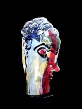 Walter FURLAN - Sculpture-Volume - Tete de femme - après Picasso