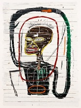 Jean-Michel BASQUIAT - Grabado - Flexible