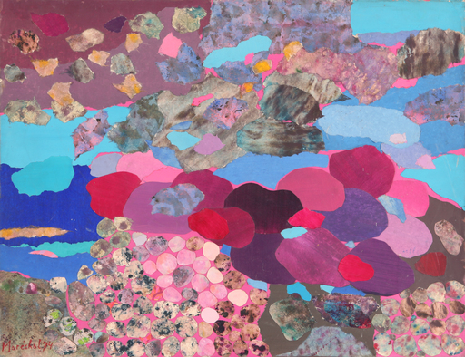 Claude MARECHAL - Drawing-Watercolor - sans titre