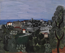 Raoul DUFY - Peinture - Vence