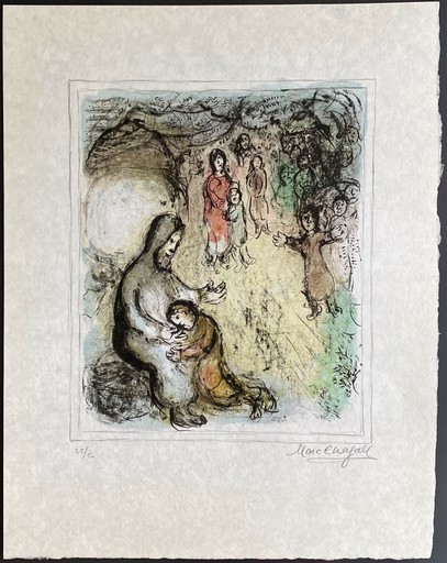 Marc CHAGALL - Stampa-Multiplo - Jacob's Blessing