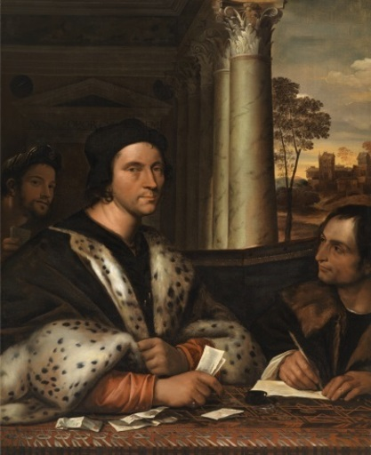 SEBASTIANO DEL PIOMBO - Pittura - Portrait of diplomat, Ferry Carondolet