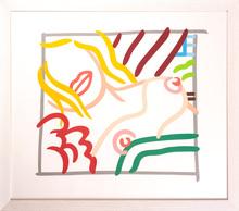 汤姆•韦瑟尔曼 - 版画 - New bedroom blonde doodle