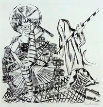 Max BECKMANN (1884-1950) - The Acrobat | Die Seiltänzer