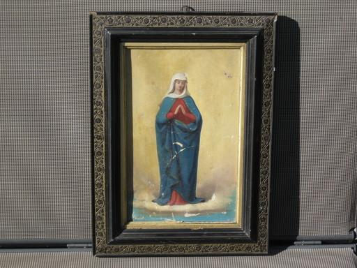 Karl Anton Heinrich MÜCKE - Pintura - Mutter Gottes