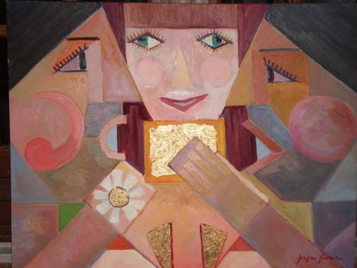 Serge SIEVIC - Peinture - Les Pretendants