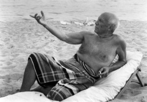 Lucien CLERGUE - Photography - Picasso En La playa