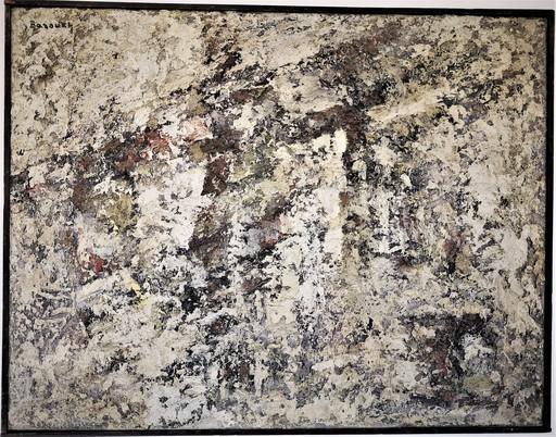 Ezechiel BAROUKH - Painting - Sans titre