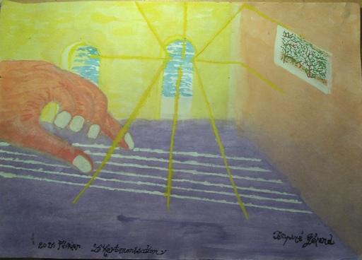 Gérard DUPIRÉ - Drawing-Watercolor - art monisation