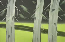 Alex KATZ - Estampe-Multiple - Three Trees