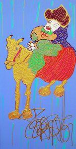 Isa SATOR - Painting - Masnsen le Magnifique    (Cat N° 6752)