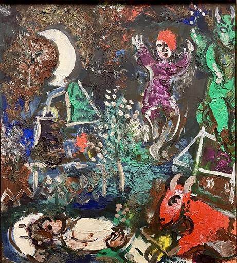 Marc CHAGALL - Gemälde - Le Songe