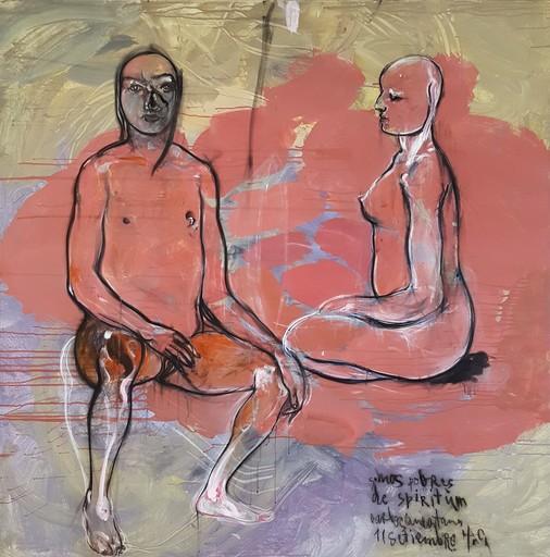 Carlos QUINTANA - Painting - Somos pobres de espiritum
