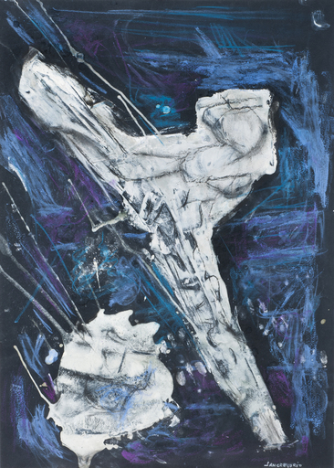 Giancarlo SANGREGORIO - Drawing-Watercolor - spazio ed incognito