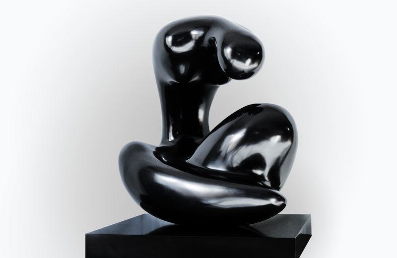 Manuel CARBONELL - Sculpture-Volume - Madonna of the Moon