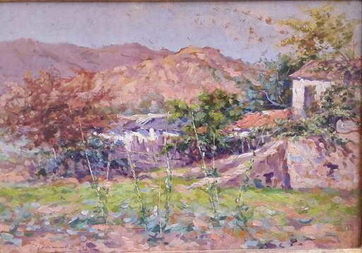 Federico BERMUDEZ GIL - Painting - PAISAJE