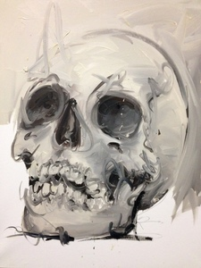 Philippe PASQUA - Painting - vanité