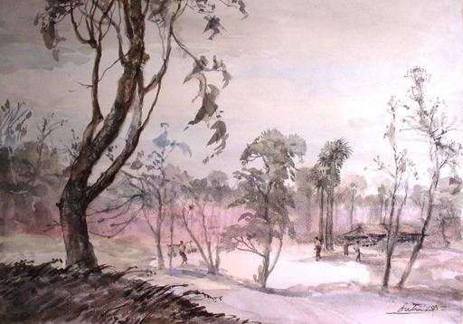 U LU TIN - Drawing-Watercolor - palm sugar collection