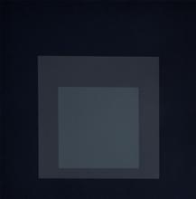 约瑟夫•亚伯斯 - 版画 - Composition Seven, from: Homage to the Square