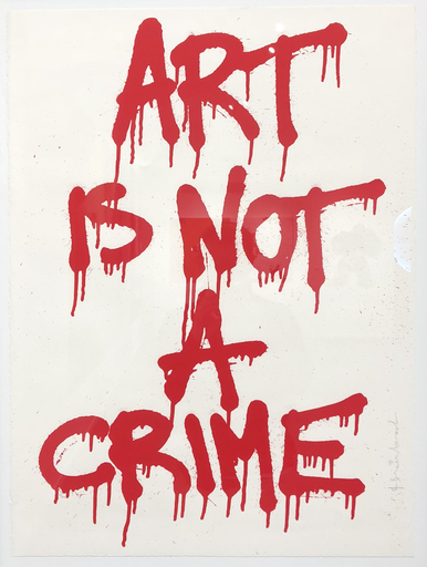 MR BRAINWASH - Stampa-Multiplo - Art is not a crime