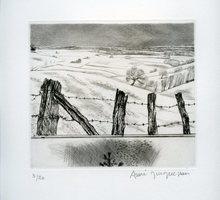 André JACQUEMIN - Print-Multiple - GRAVURE 1984 SIGNÉE AU CRAYON NUM/20 HANDSIGNED ETCHING