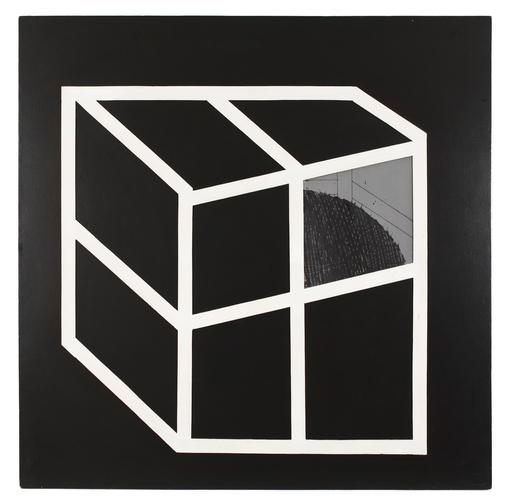 Emilio SCANAVINO - Pittura - Nascosto 1