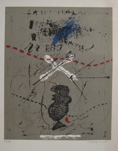 James COIGNARD - Estampe-Multiple - LITHOGRAPHIE SIGNÉE CRAYON NUM/75 HANDSIGNED NUMB LITHOGRAPH
