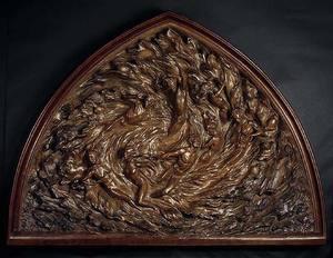 Frederick Elliot HART - 雕塑 - Ex Nihilo: Working Model (Bronze)