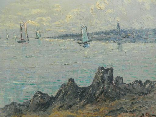 Bernard COWEZ - 绘画 - BRETAGNE - PAYSAGE - LANDSCAPE - SEA