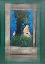 Pedro Pablo OLIVA - Pintura - Adan y Eva