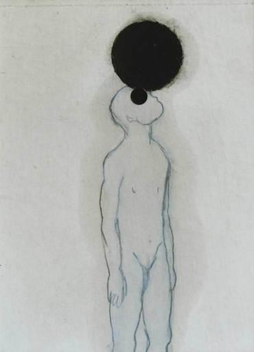 Ricard AYMAR - Dessin-Aquarelle - Ecouter le vide, comtempler le silence, carresser l'âme